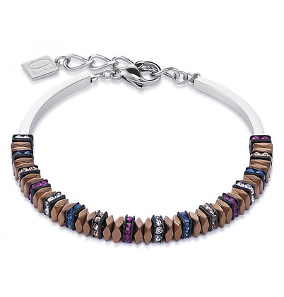 Faceted Bead and Crystal Bracelets