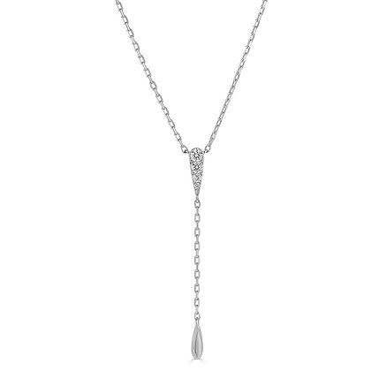 Love the Lariat Diamond Necklace