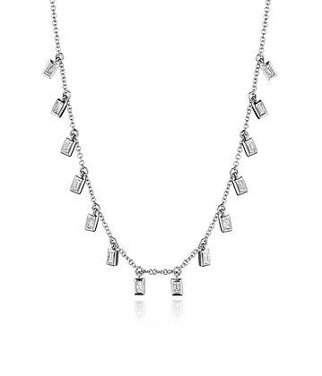 Scintillating Diamond Necklace