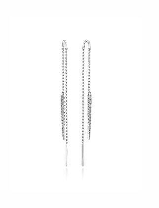 Sleek & Swinging Threader Earrings