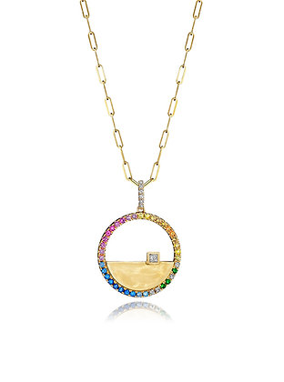 Array of Color Necklace