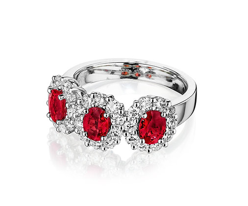 Color of Love Ruby Ring