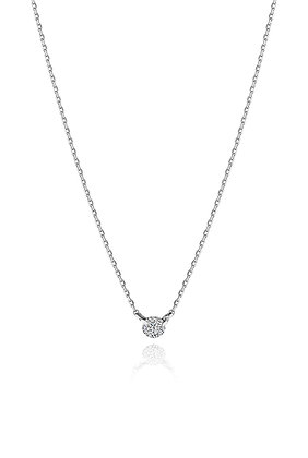 .10ct Diamond Solitaire Necklace