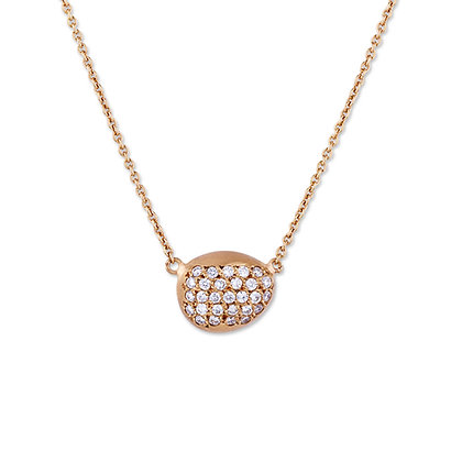 Blushing Diamond Necklace