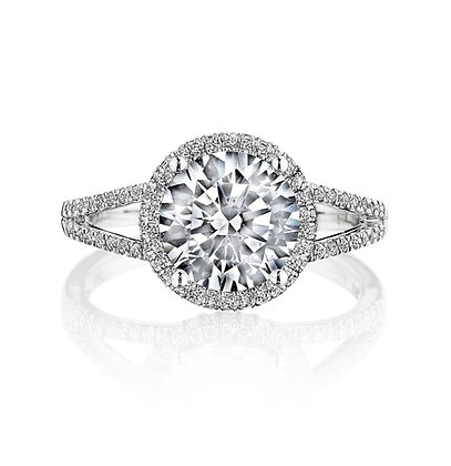 Forever Yours Diamond Semi-Mount