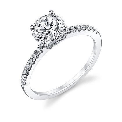 Timeless Diamond Engagement Ring