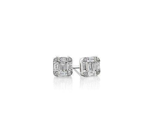Diamond Illusion Earrings