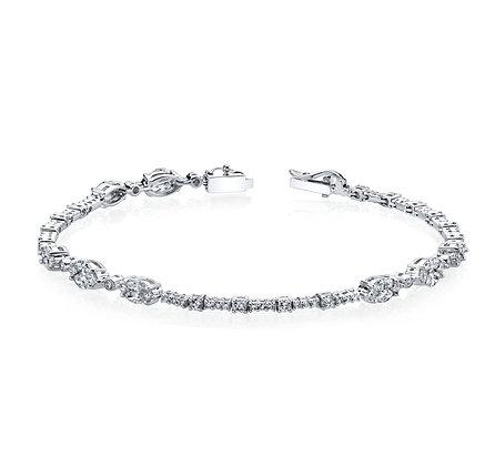 2.10ctw Diamond Tennis Bracelet