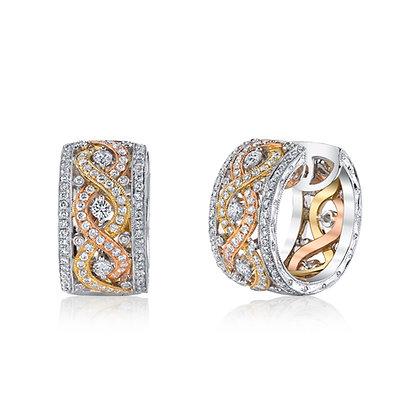Design Personified Diamond Earrings