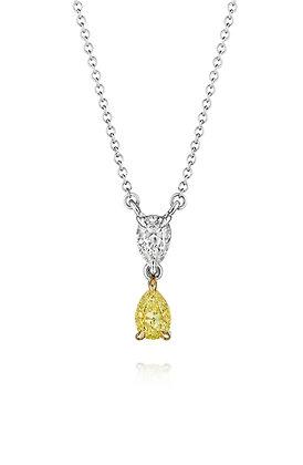 Sunny Days Ahead Diamond Necklace