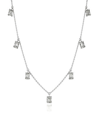 Light Catching Diamond Dangle Necklace