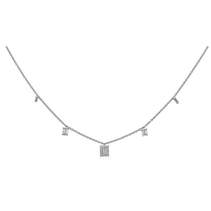 .46ctw Diamond Dangle Necklace