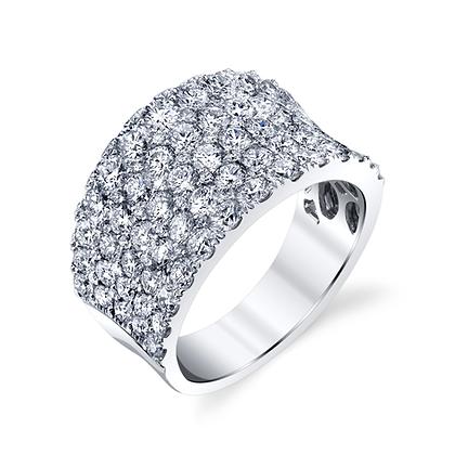 Brilliant 2.83ctw Diamond Ring