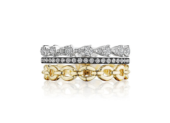 Exclusive Design Stack Diamond Ring