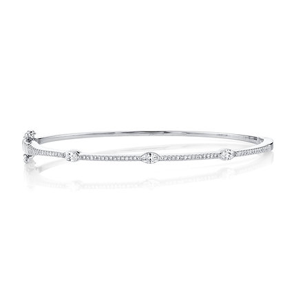 Distinctive Diamond Bangle