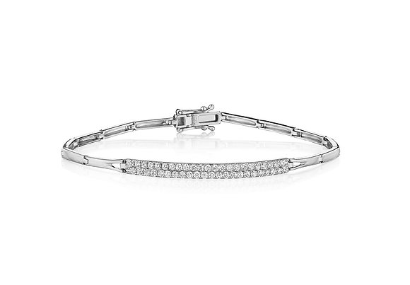 Classy as they Come Diamond Bracelet