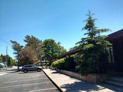 Side parking lot