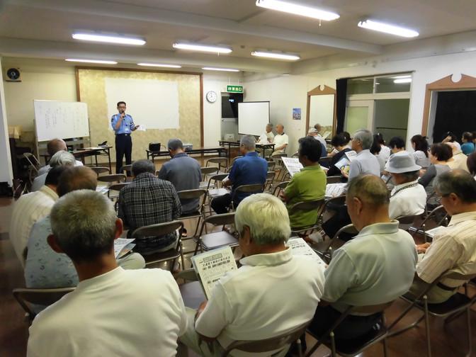 運転者講習会の開催(草島支部)
