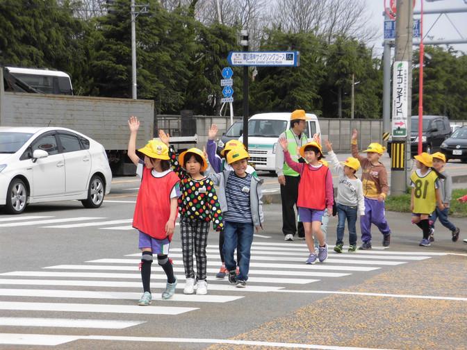 小学校交通安全教室の開催(萩浦小学校)