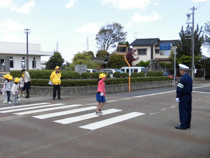 小学校交通安全教室の開催(草島小学校)