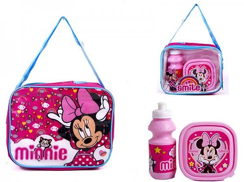 MINNIE LUNCH BAG WITH BOX AND BOTTLE