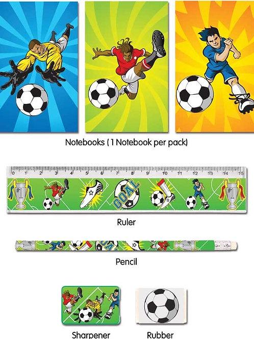 Fun Stationery Stationery Set 5 Pc Football