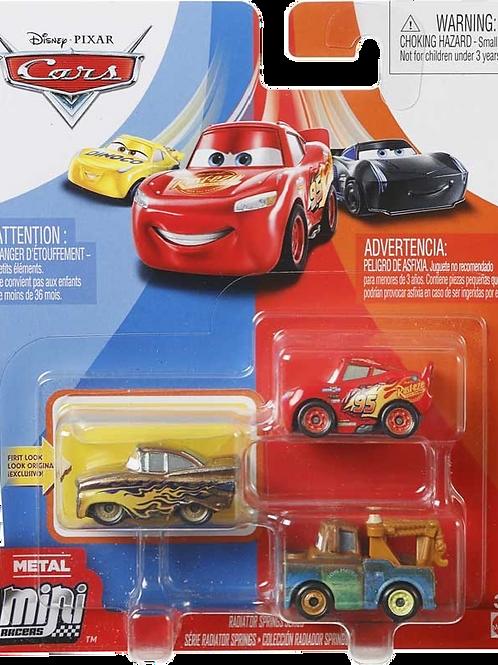 Cars Mini Racer 3 Pack Assortment
