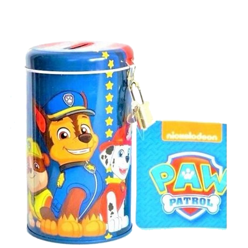 PAW PATROL MONEY TIN