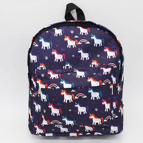 Enchanted Rainbows Unicorn Rucksack Backpack