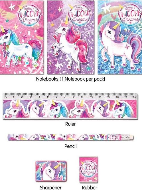 Fun Stationery Stationery Set 5 Pc Unicorn
