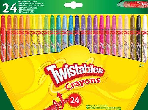 Crayola 24 Twistables Crayons