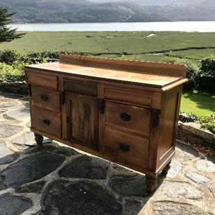 Late Victorian wood Sideboard