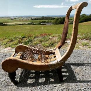 Vintage Nursing Chair Carcass