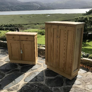 Small & Large cabinet