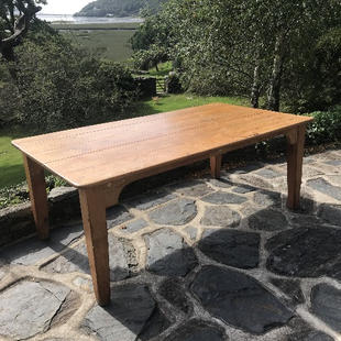 Pine Library Table
