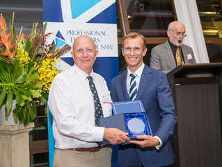 Professional Teaching Council Exceptional Service Award recipient