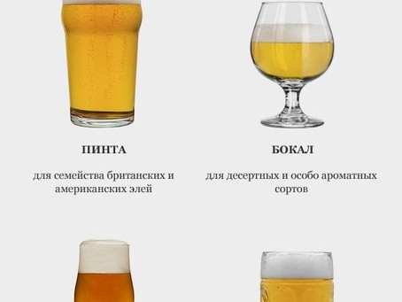 Стереотип: Посуда никак не влияет на вкус пива, можно пить хоть из горла.