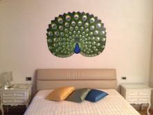 Pavone decorativo