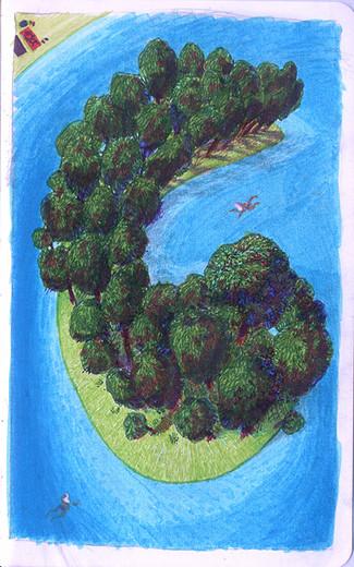 C island