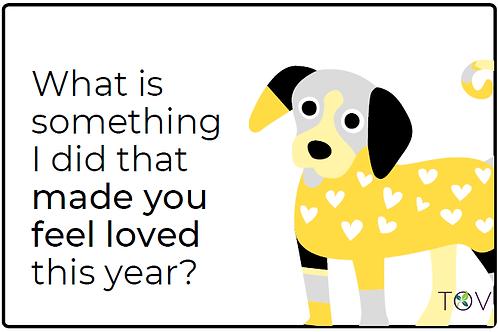 Kids New Year Conversation Cards