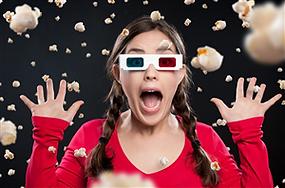 אטרקציות לאירועים קולנוע נייד 7 מימדים