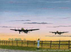 'Godspeed' (Lancasters)