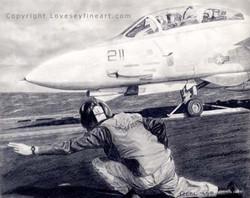 'On the Verge' (F-14 Tomcat)