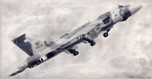 'Climb' (Avro Vulcan XH558)