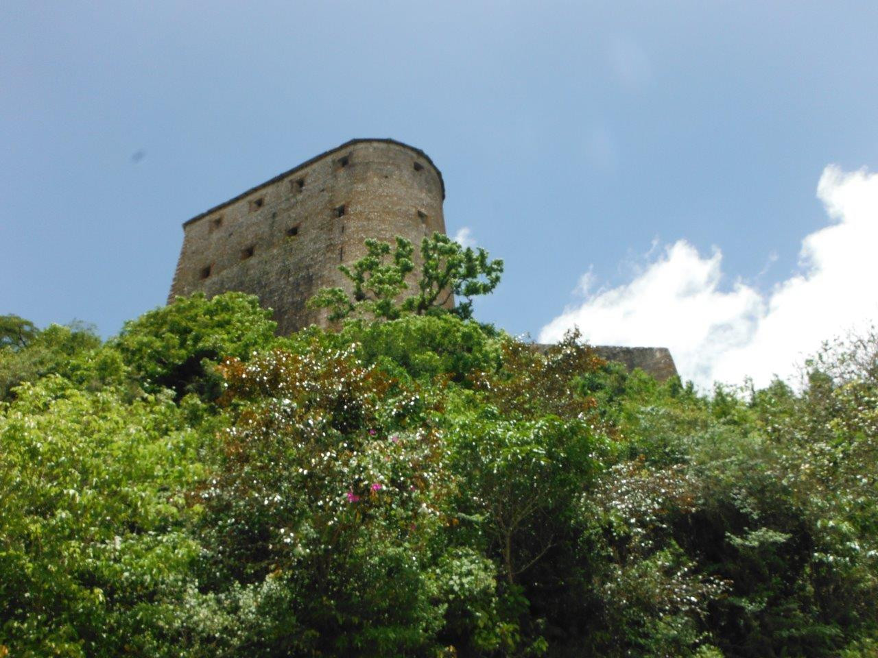 The Citadel – a huge fort reached by an ancient stone-paved road on horseback