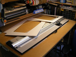 Picture Mount Cutting