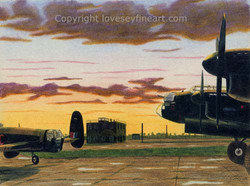 'Calm Before the Storm' (Lancasters)