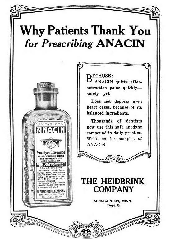 Anacin Company History | Made-in-Chicago Museum