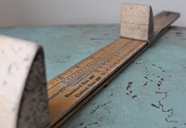 Name Of The Foot Measuring Device : Ritz stick history made in chicago museum