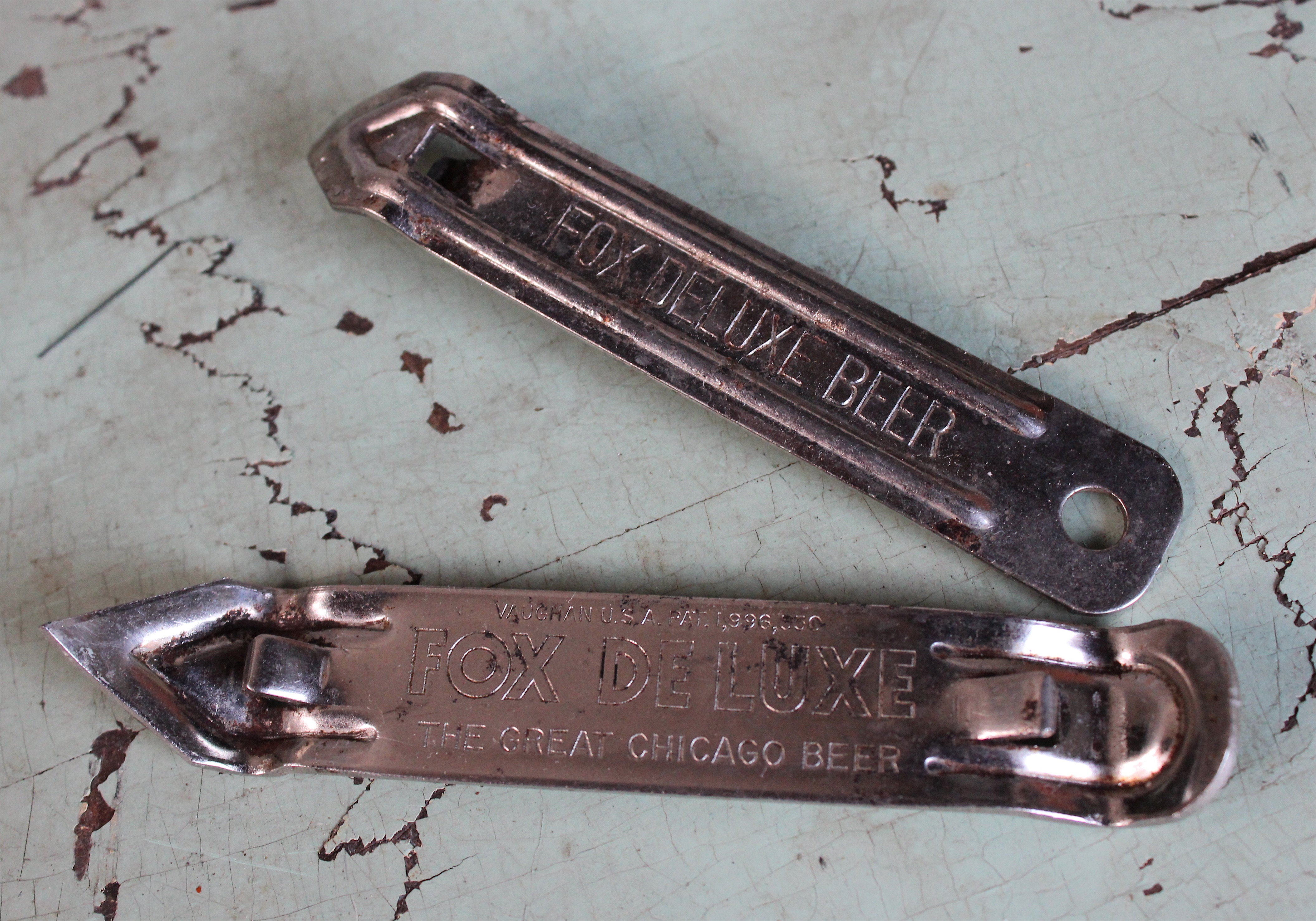 fox deluxe bottle openers by vaughans usa | made-in-chicago museum